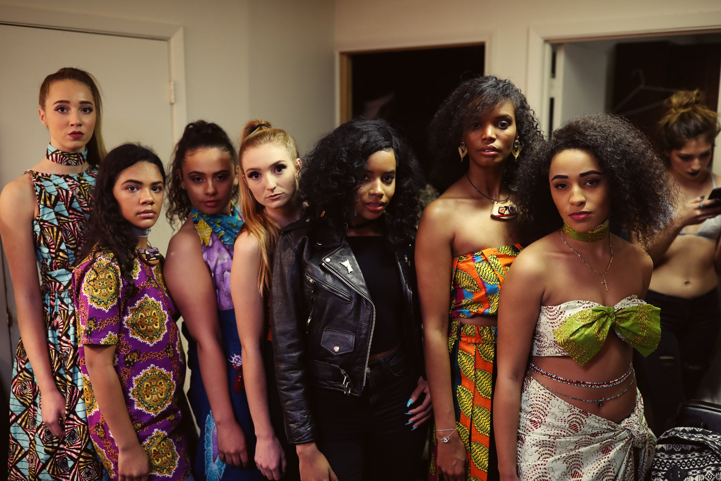 Models in IKONIC with Diallo