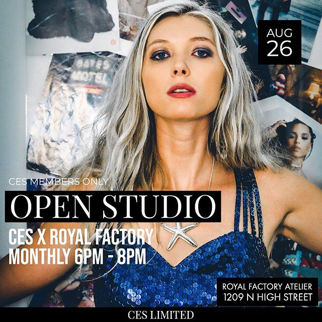 Our next open studio is Monday!
