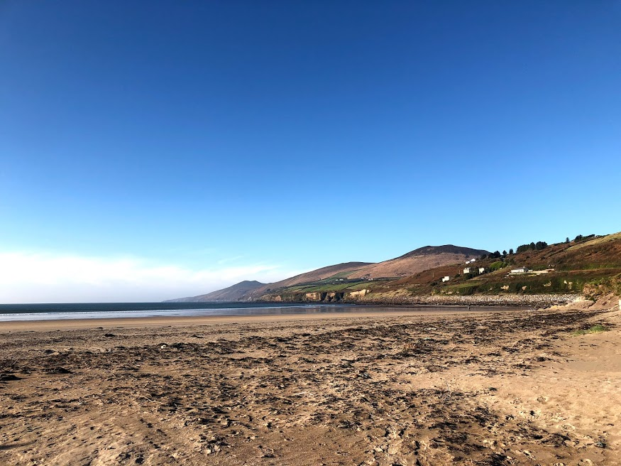 Wild Atlantic Way at Inch Beach, County Kerry  Photo provided by Shannon Green '20