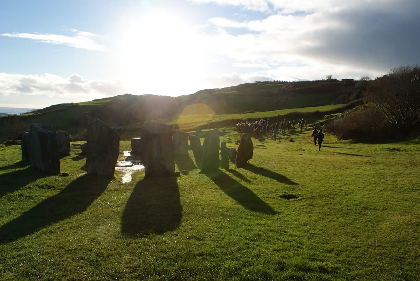 Drombeg Stone Circle in County Cork  Photo provided by Patrick Salerno '21