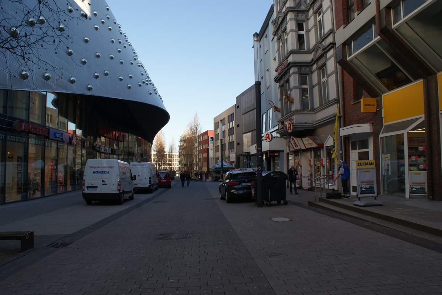 Street next to Limbecker Platz  Photo provided by Patrick Salerno '21