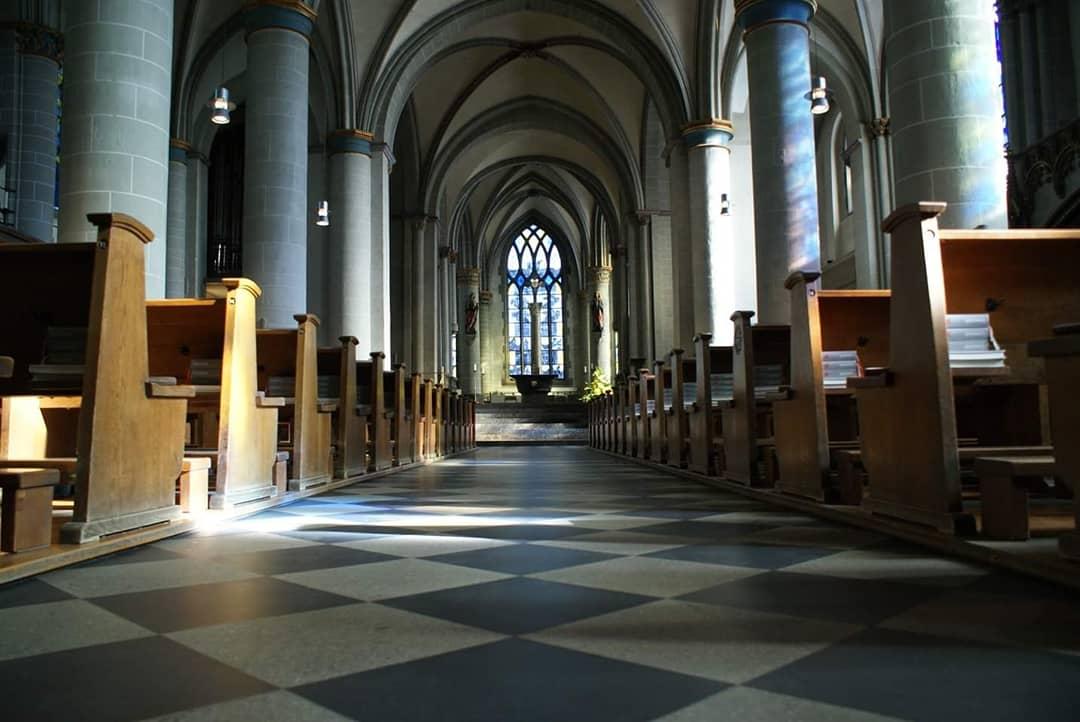 Inside Essener Dom  Photo provided by Patrick Salerno '21