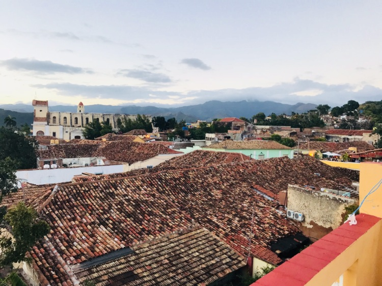 Rooftop view of Trinidad, Cuba  Photo provided by Gabrielle Rente '20
