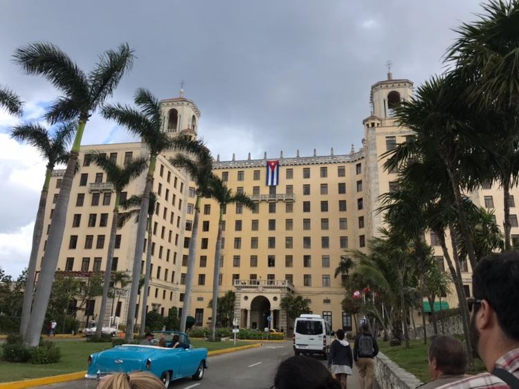 Hotel Nacional in Havana, Cuba  Photo provided by Gabrielle Rente '20