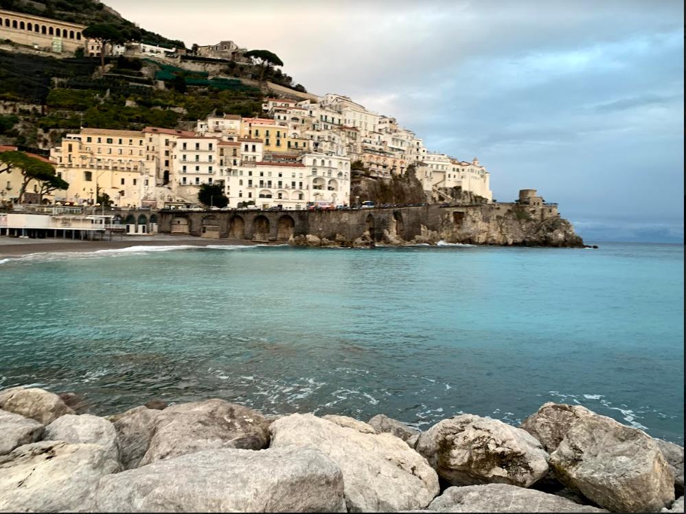 Almafi Coast, Italy  Photo provided by Kaitlyn Peacock '19