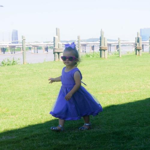 Zivah on the Tulsa Riverwalk