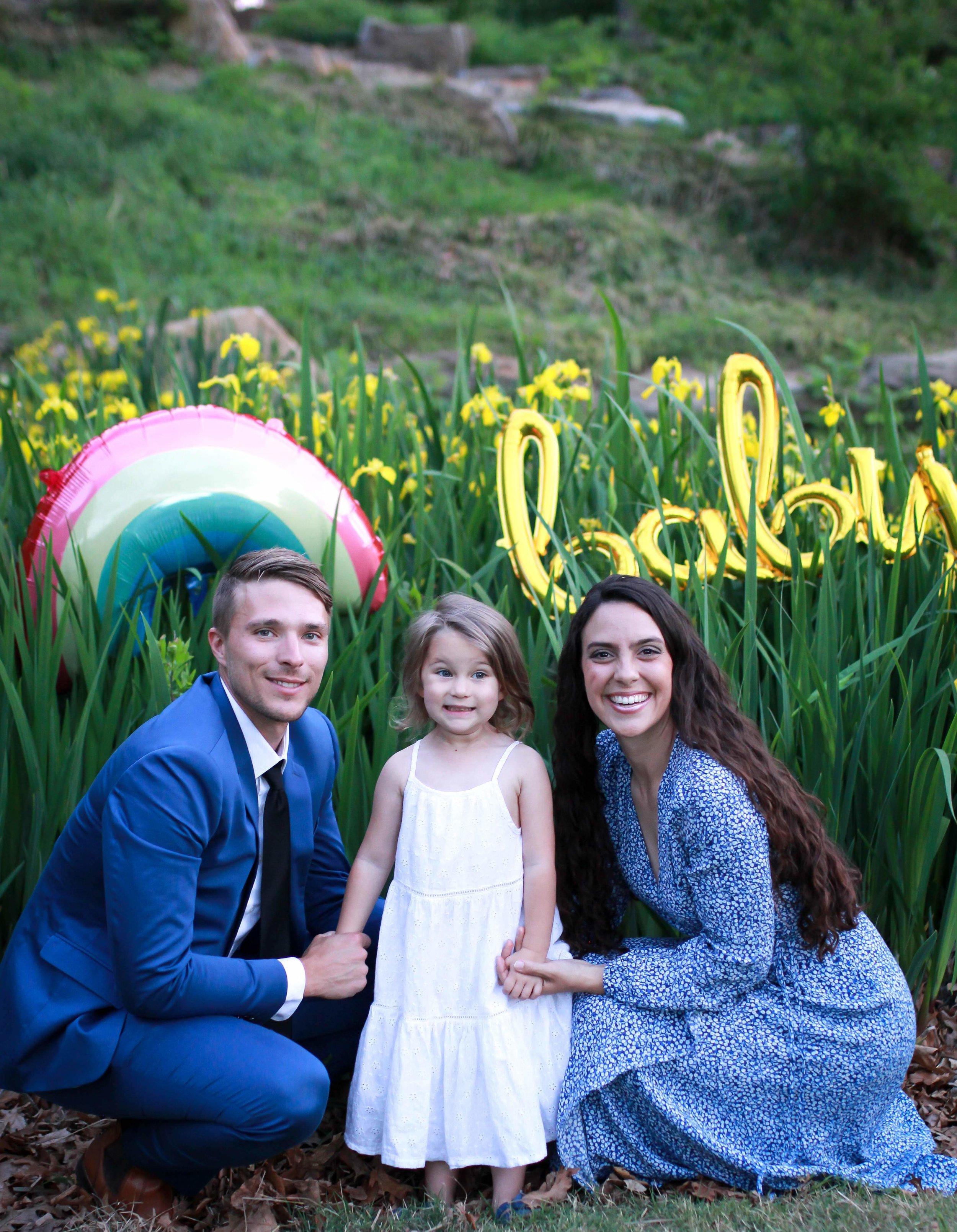 The Gavrilovs Rainbow Baby Announcement