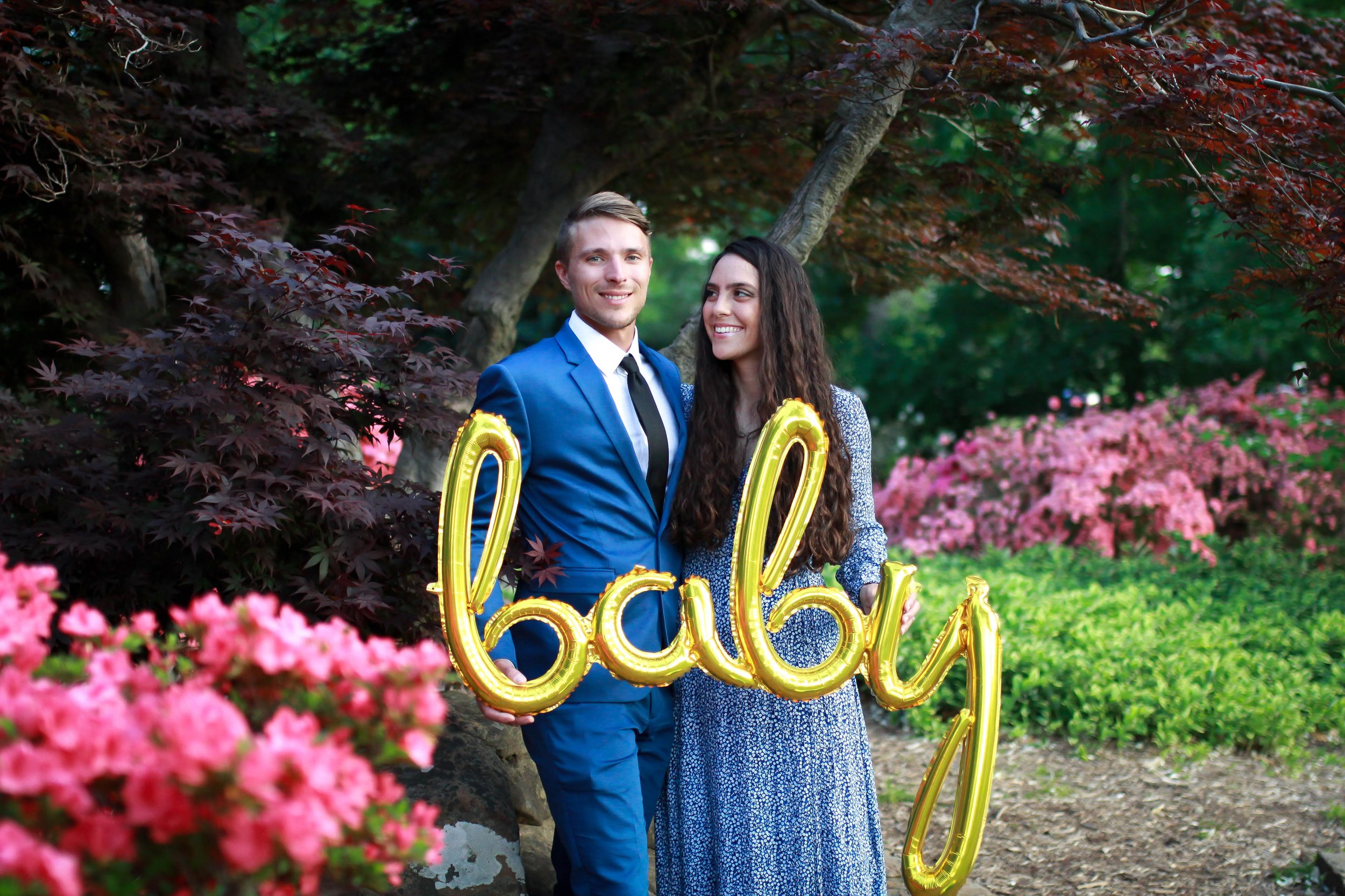 The Gavrilov's Rainbow Baby Announcement