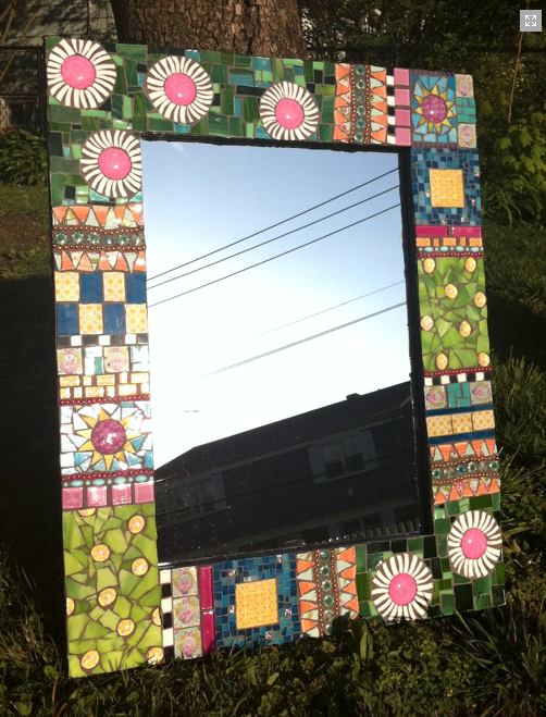 Quilt mirror