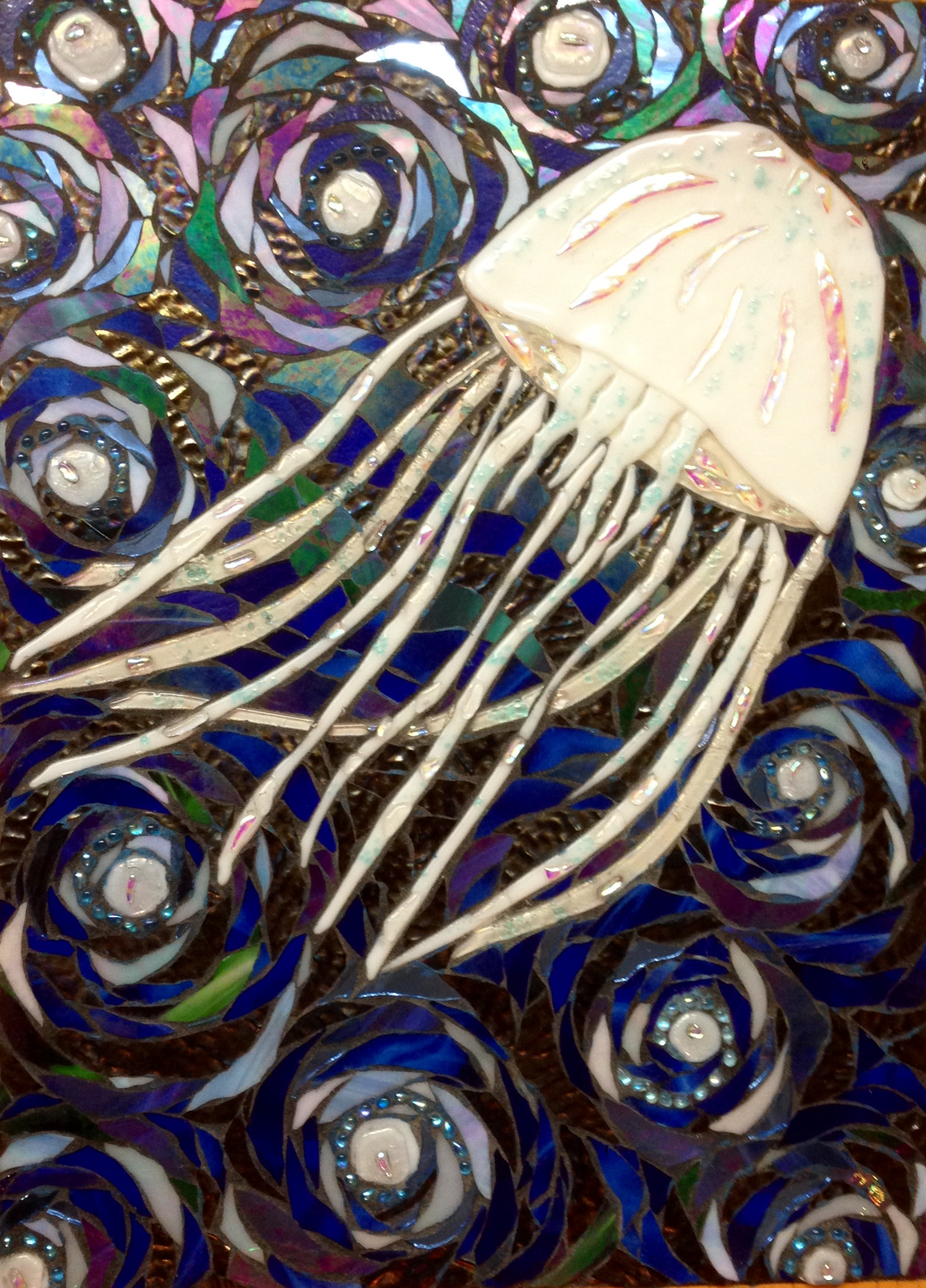Jellyfish – Custom shower panel