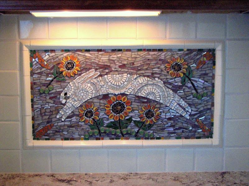 Custom kitchen panel