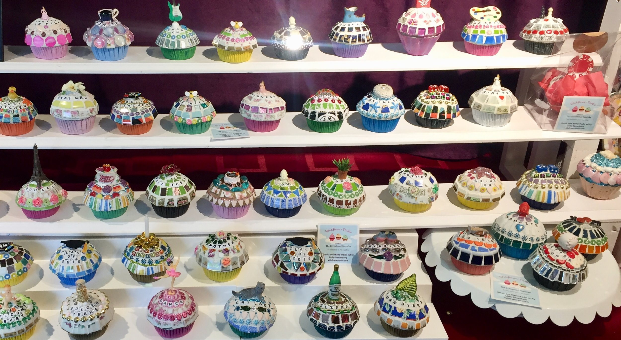 Mosaic Cupcakes