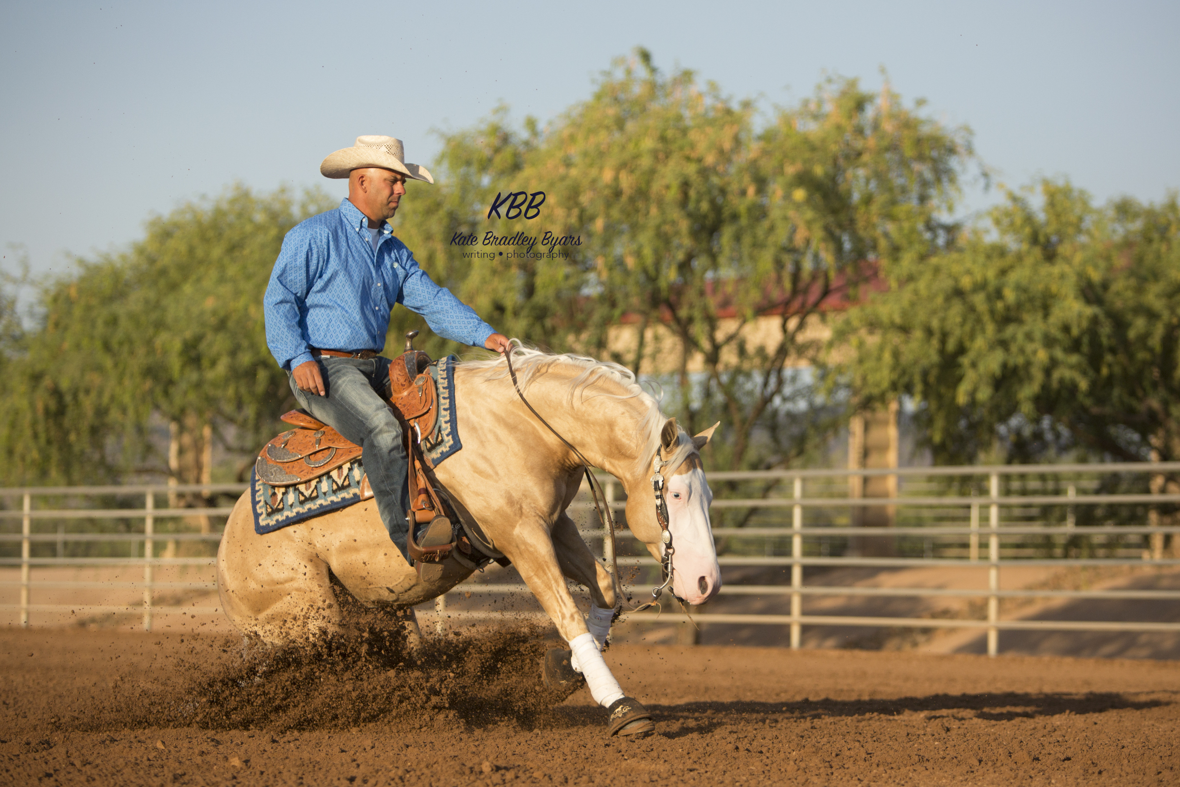 Anderson Bean Boot Company endorser Craig Schmersal, reining horse trainer.