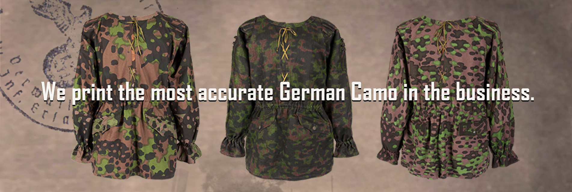 Best German Camo in the business.