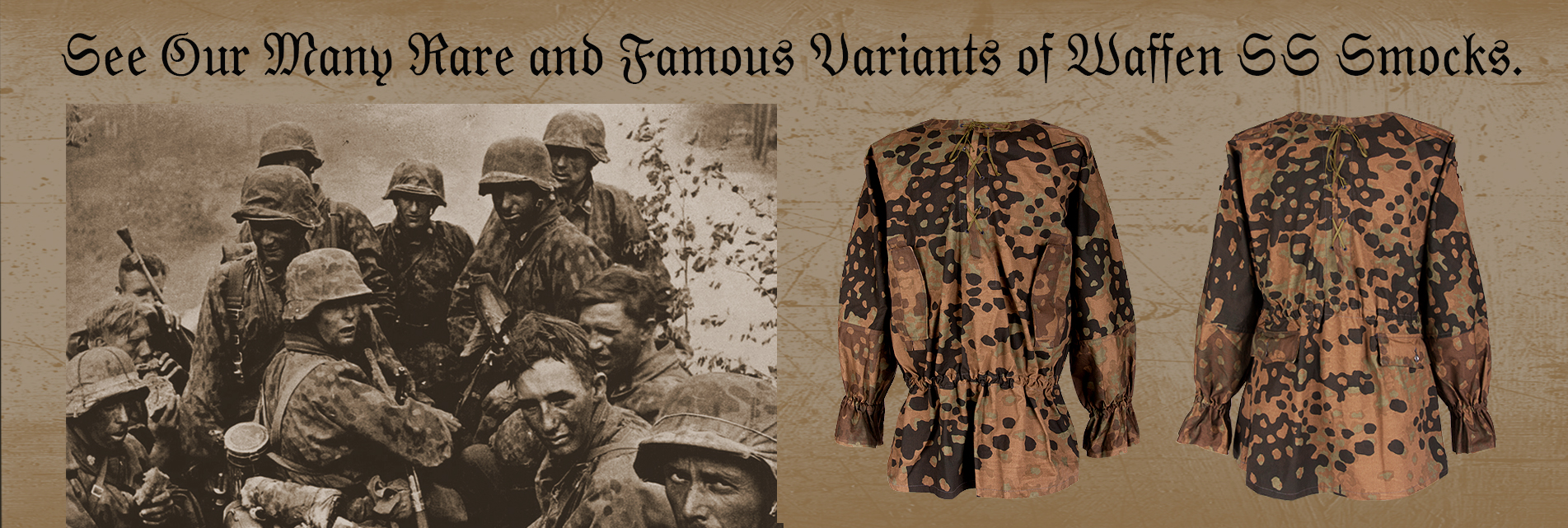 Rare and famous WWII SS Smocks
