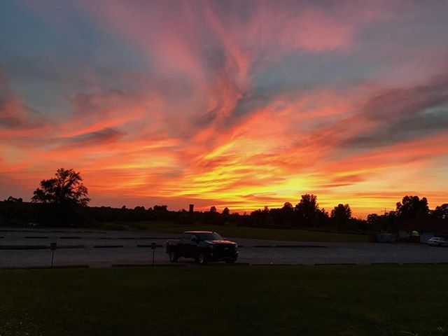 Beautiful sunset to cap off another wonderful Marne Open day!