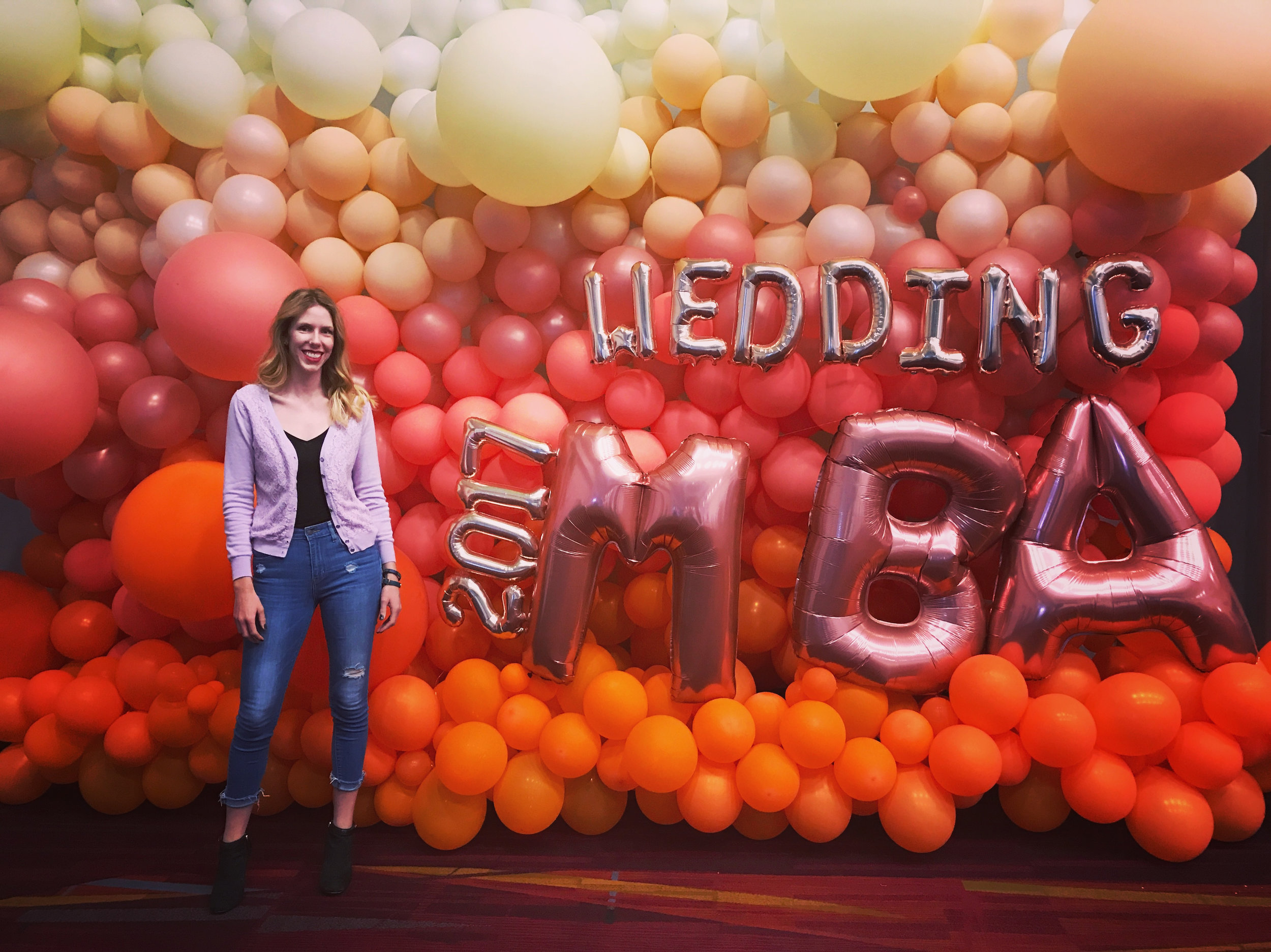 2nd year attending Wedding MBA. -