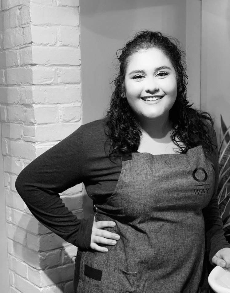 Sarah Elizardo  receptionist, web disigner