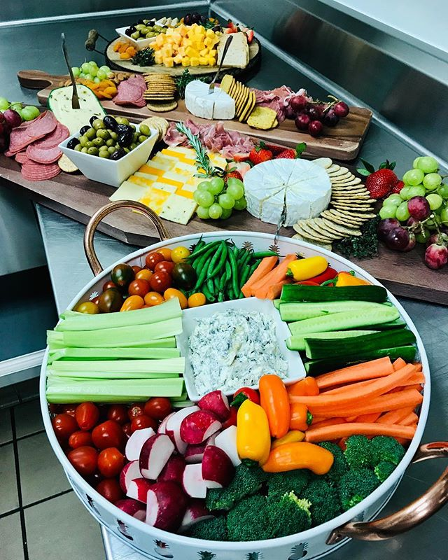 Ready to serve #appetizers #weddingcatering#cocktailhours