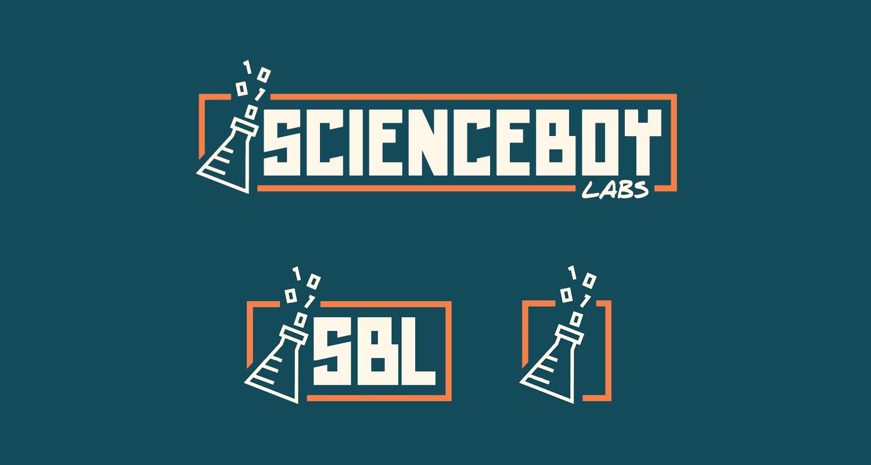 ScienceBoy Labs Logo Dark