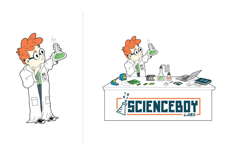 ScienceBoy Labs Illustration