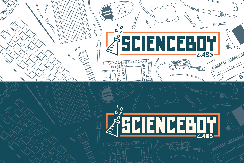ScienceBoy Labs Social Media Headers