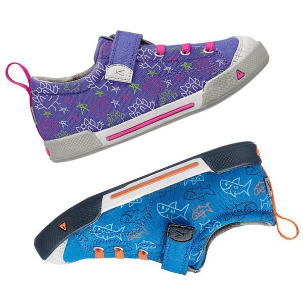 KEEN Shoe Patterns Illustrations