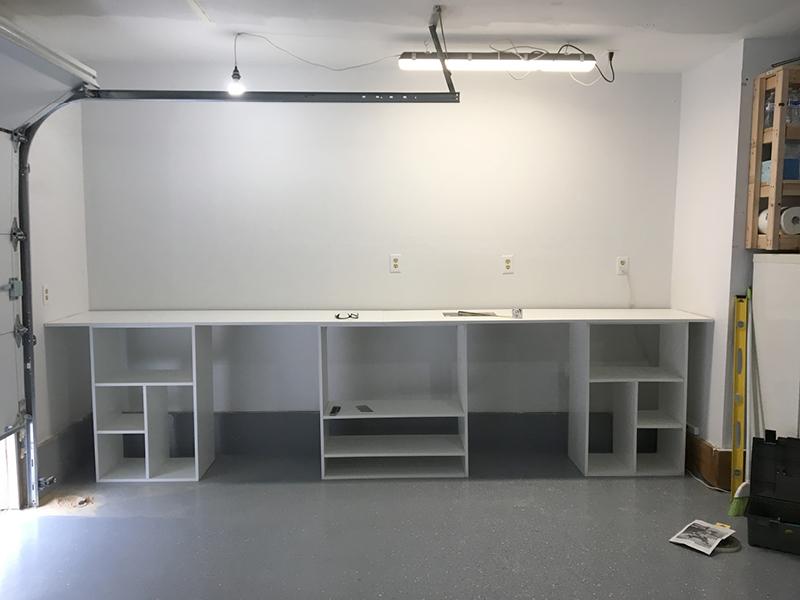 Finished work station