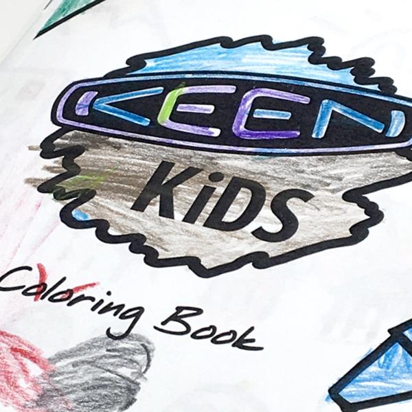 KEEN Kids Coloring Book