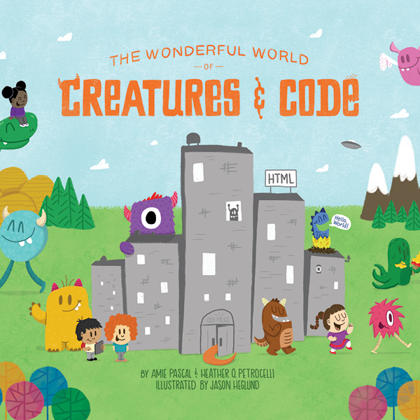 The Wonderful World of Creatures & Code  Children's Book