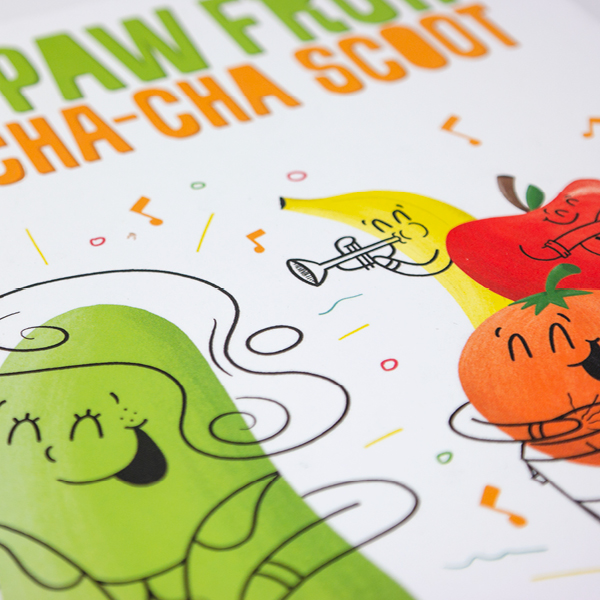 Piper the Paw Paw Fruit Does the Cha Cha Scoot Children's Book