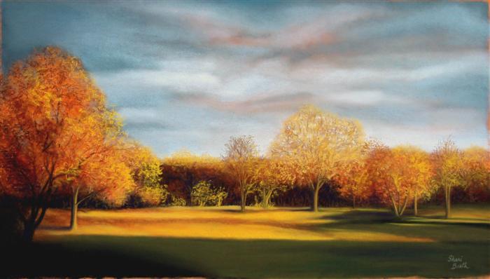 Autumn Glow II - pastel