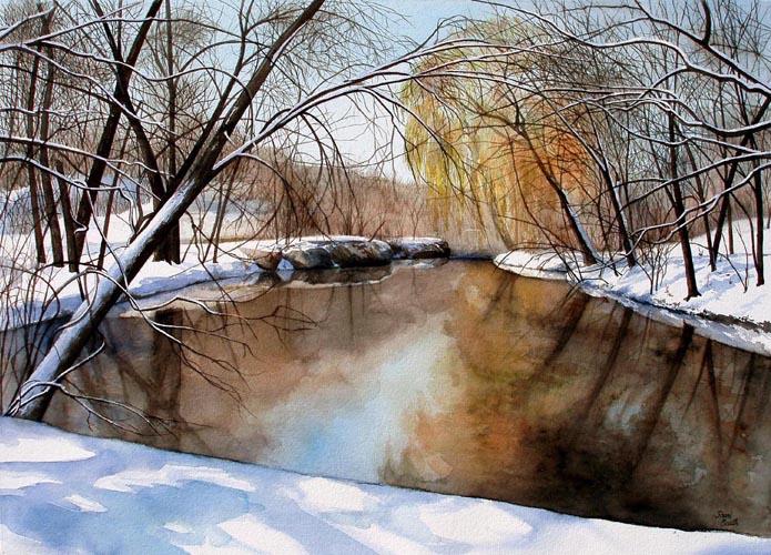 East Park - watercolor