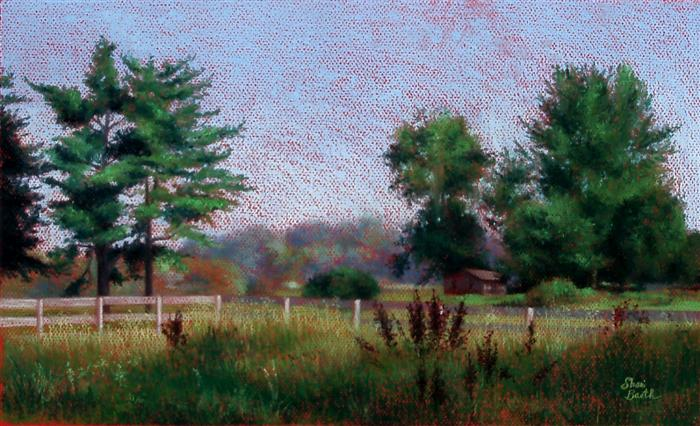 Homestead -  pastel