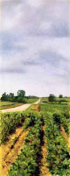 Walking Beans - pastel