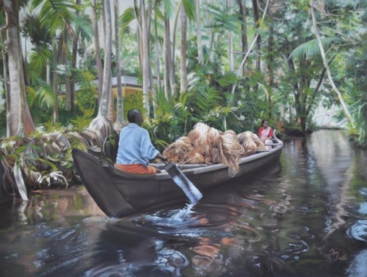 Handmade Rope - Kerala, India