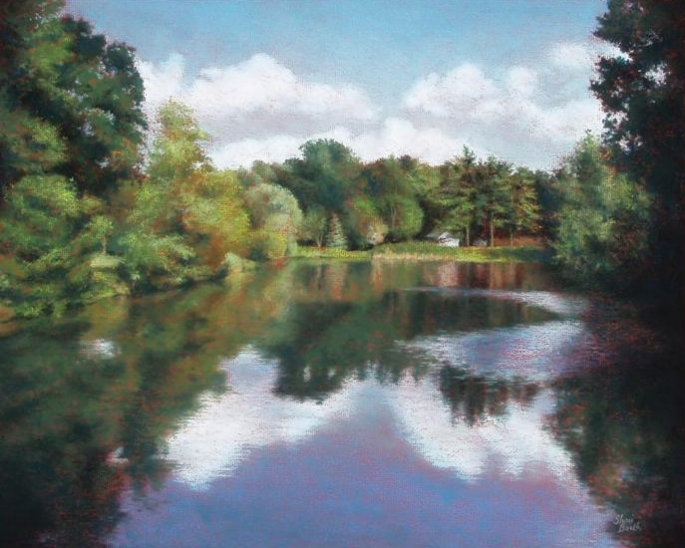 Witmer Park - pastel