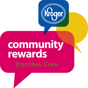 """Donate for Free while you shop with Kroger Community Rewards. Sign-up  once  and Kroger will donate each time you shop!  1. Sign-up/login to Kroger Community Rewards (like above)  2. Select """"Branches Crew"""" as Organization Name"""