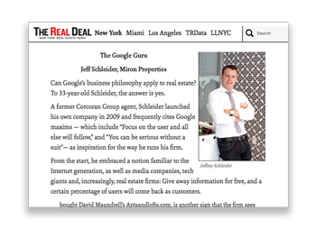 Real Deal:   The Start-Up Generation