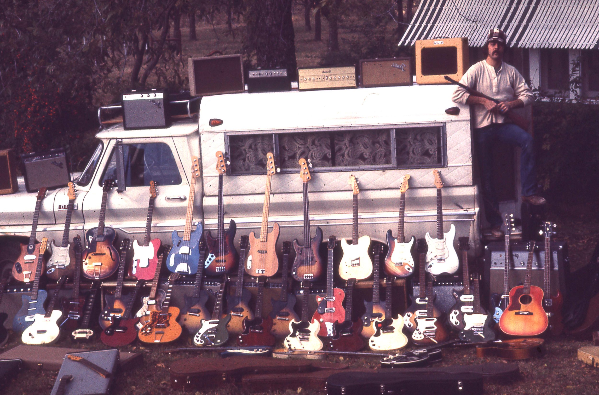 Michael Stevens Guitar truck display (all was packed in the truck).jpg