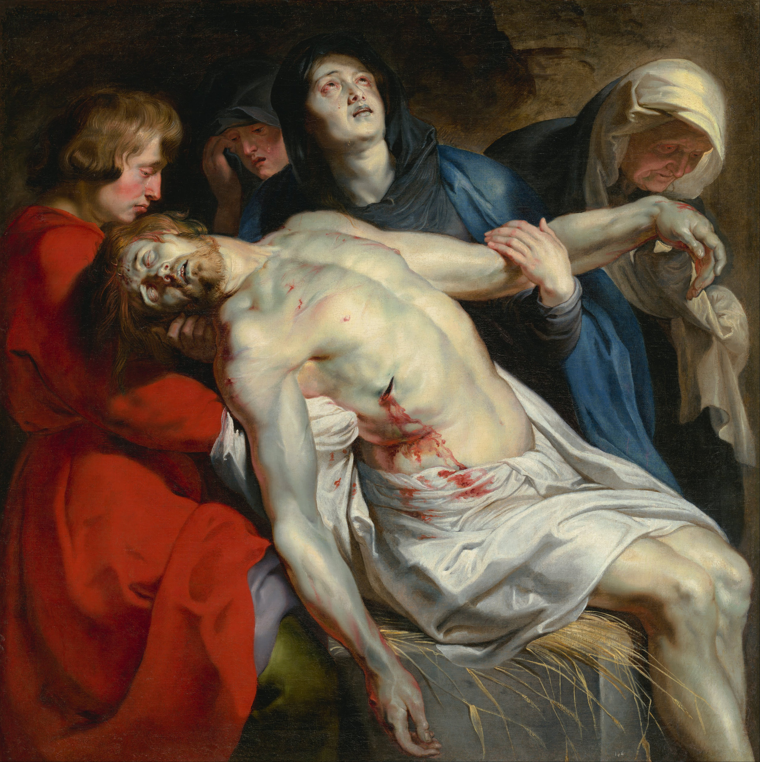 Peter Paul Rubens  The Entombment