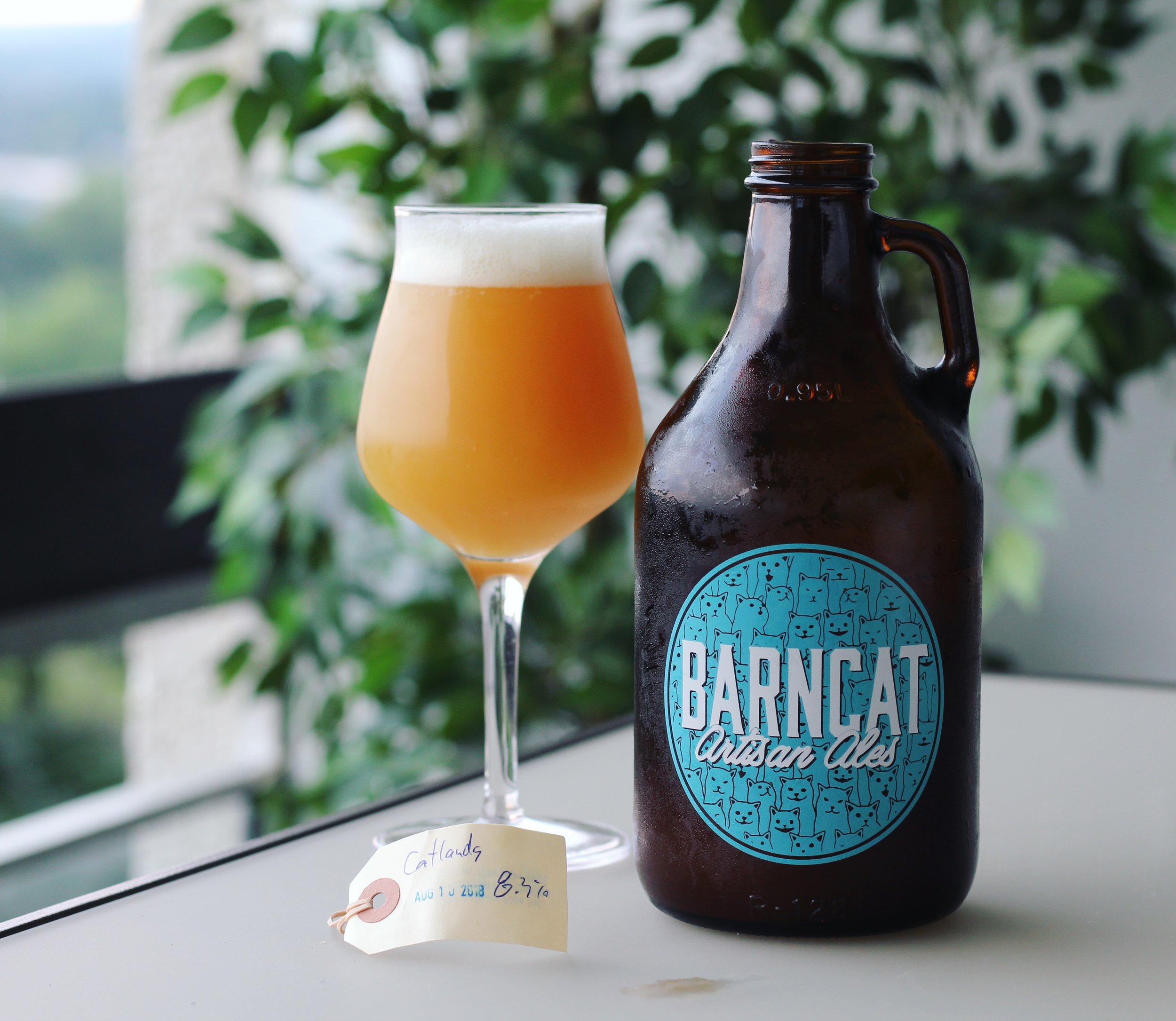 Barncat Artisan Ales  from Cambridge are Ontario's kings of haze, pumping out some of the best in the province.
