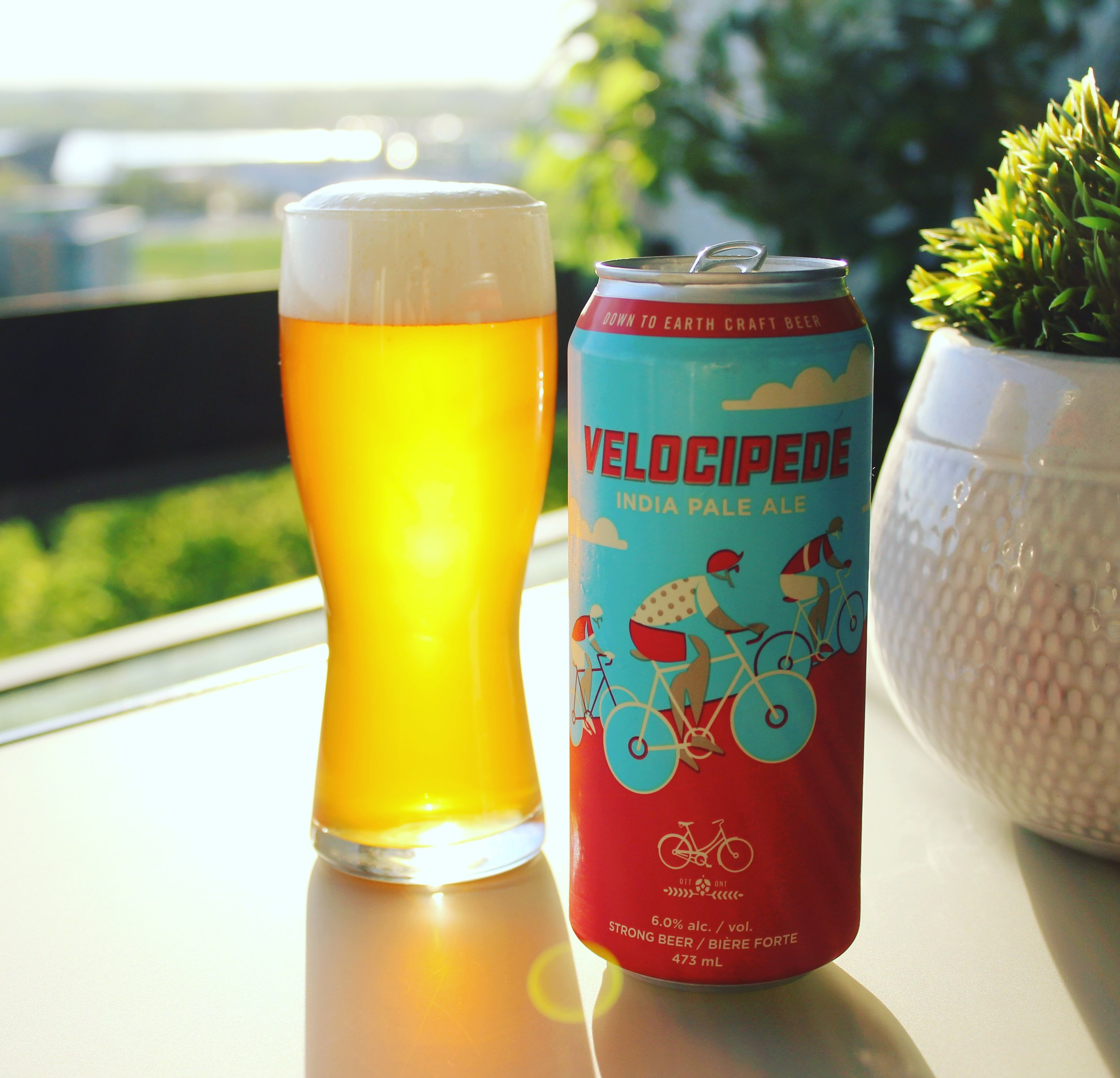 "Hop"" on the Bike in Ottawa - Bicycle Craft Brewery — BAOS"