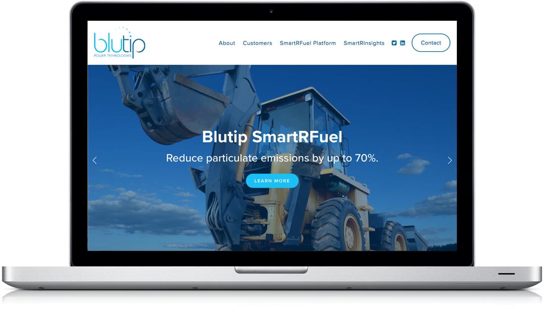 New Desktop Website