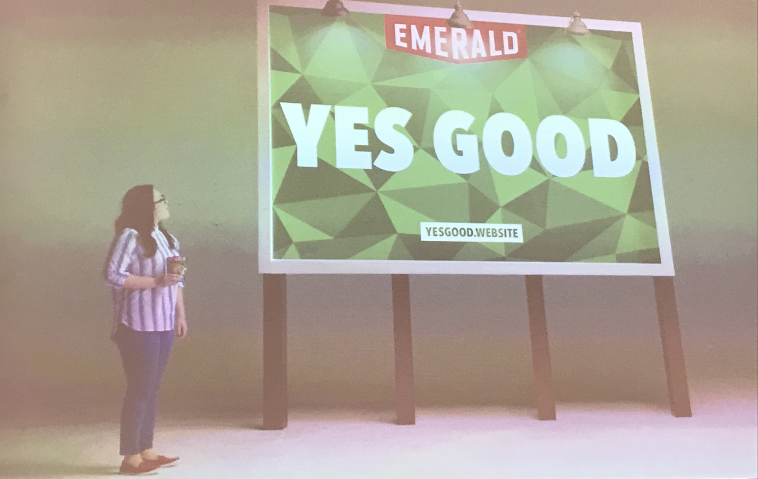 Emerald Nuts turned one of its first (and shortest) customer reviews into its tagline.