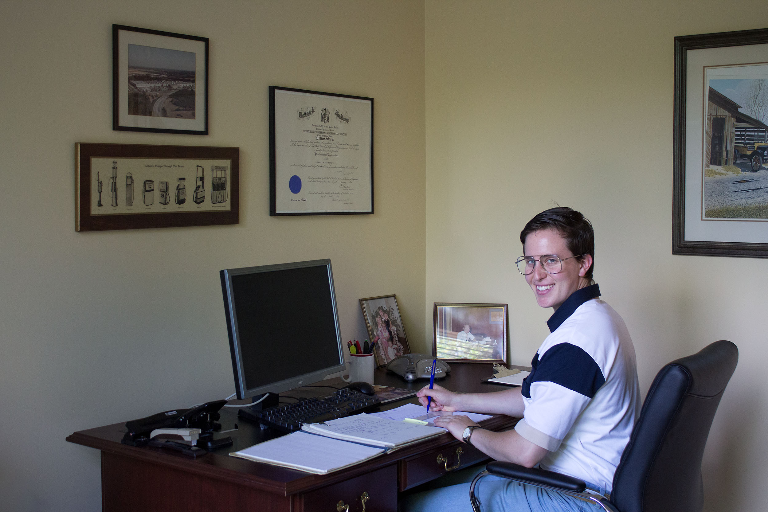 Passing of a Patriarch I: Doing Paperwork in the Study