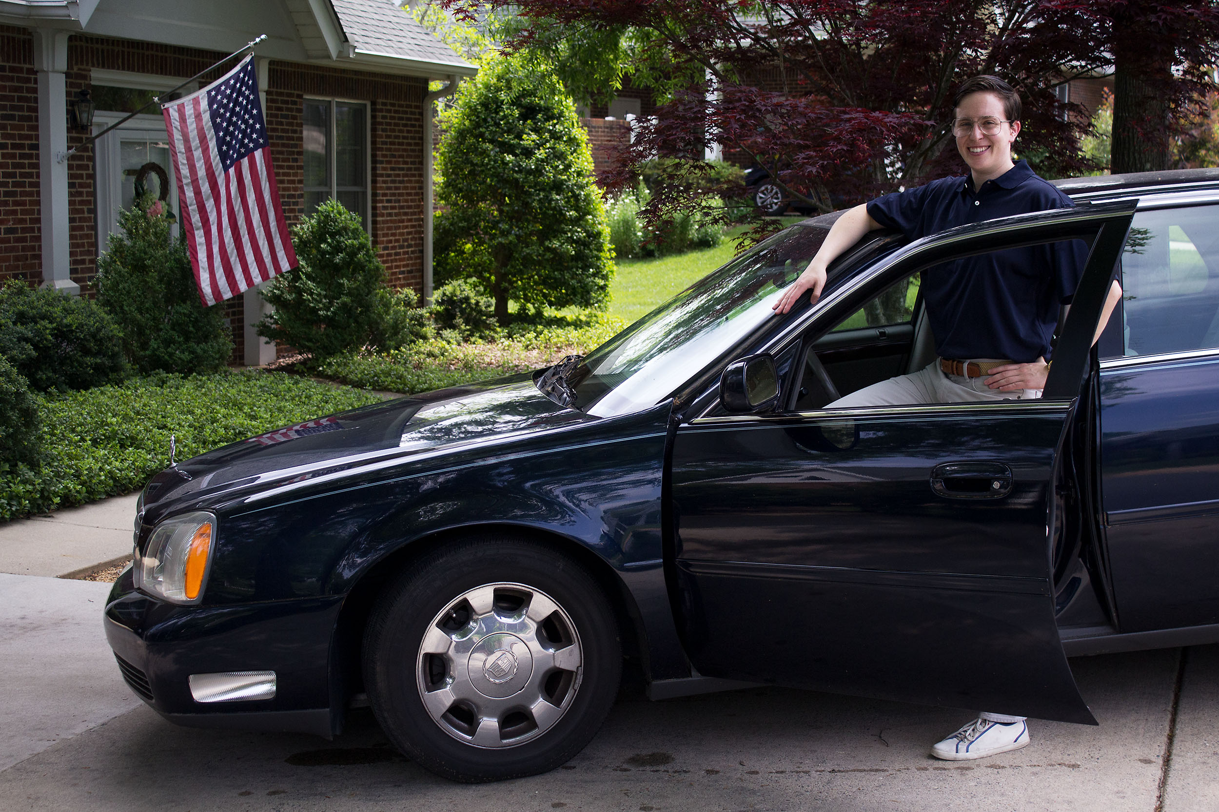 Passing of a Patriarch I: Cadillac in the Driveway