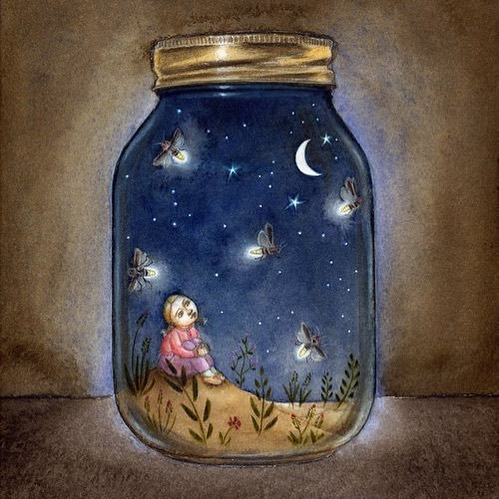 We are seeing extraordinary fireflies this year in Ann Arbor! Painting from My First Book of Haiku Poems.⠀ ⠀ ⠀ .⠀ .⠀ .⠀ ⠀ ⠀ ⠀ ⠀ #authorsofinstagram #authorsofig #kidslit #kidslitart #illustration #childrensbookillustrator #childrensbookillustration #picturebookart #kidslitillustration #picturebookillustration #childrenillustrator #magic_of_illustrations #best_of_illustrations #childrensbookauthor #authorsofinsta #illustratorsofig #dailyillustration #illustrationofinstagram #womenofillustration #whimsyillos #childrenbookart #illustrationartist #myfirstbookofhaikupoems #haiku #poetrymonth #childrenshaiku #childrenspoetry #poetryforchildren #kidslit #kidslitillustration