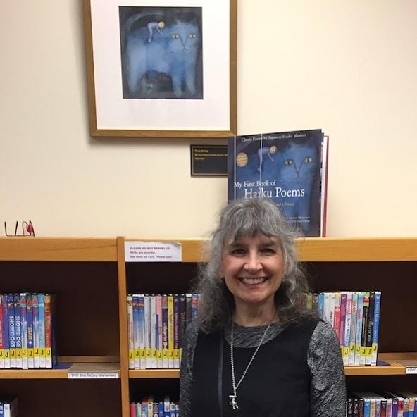 """If you are near Saline, MI this summer, check out """"A Universe of Stories"""", an exhibit put on by SCBWI featuring the work of Michigan children's book illustrators. It runs through August at the Saline Library. Lot's of exciting artwork!⠀ ⠀ ⠀ .⠀ .⠀ .⠀ ⠀ ⠀ ⠀ ⠀ #authorsofinstagram #authorsofig #kidslit #kidslitart #illustration #childrensbookillustrator #childrensbookillustration #picturebookart #kidslitillustration #picturebookillustration #childrenillustrator #magic_of_illustrations #best_of_illustrations #childrensbookauthor #authorsofinsta #illustratorsofig #dailyillustration #illustrationofinstagram #womenofillustration #whimsyillos #childrenbookart #illustrationartist #myfirstbookofhaikupoems #haiku #poetrymonth #childrenshaiku #childrenspoetry #poetryforchildren #kidslit #kidslitillustration"""