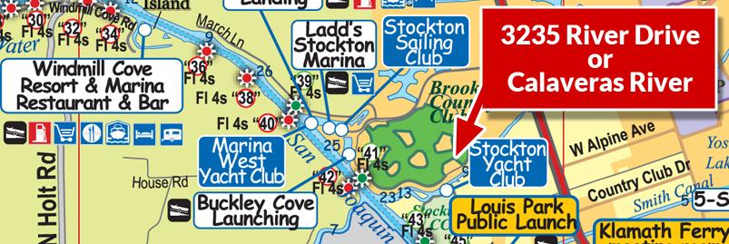 Delta Map image courtesy of www.DeltaBoatingMap.com